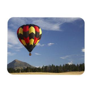 Hot Air Balloon near Wanaka, South Island, New Rectangular Photo Magnet