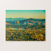 Hot Air Balloon New  Mexico. Jigsaw Puzzle