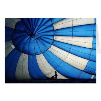 Hot Air Balloon note card