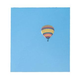 Hot Air Balloon Note Pad