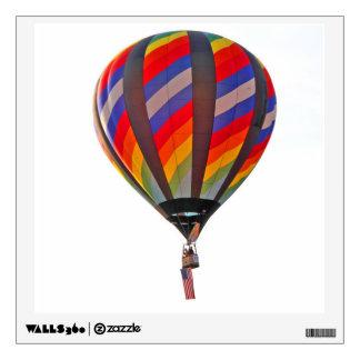 Hot Air Balloon on a peelable wall decal