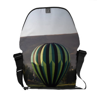 Hot air balloon over the Yakima River 2 Courier Bag