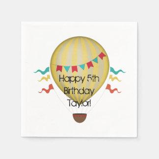 Hot Air Balloon Paper Napkin
