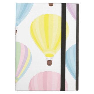 Hot Air Balloon Pastel Pattern iPad Air Cover