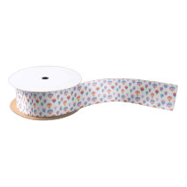 Hot Air Balloon Pattern Satin Ribbon