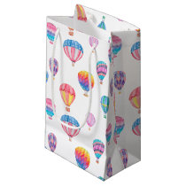 Hot Air Balloon Pattern Small Gift Bag