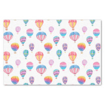 Hot Air Balloon Pattern Tissue Paper