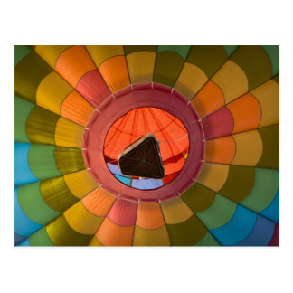 Hot Air Balloon Photograph from Great Reno Race Postcard