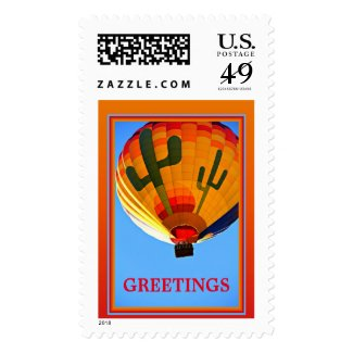 Hot Air Balloon Postage