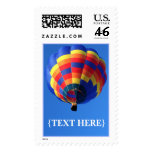 Hot Air Balloon Postage Stamp
