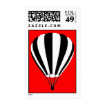 hot air balloon postage stamps