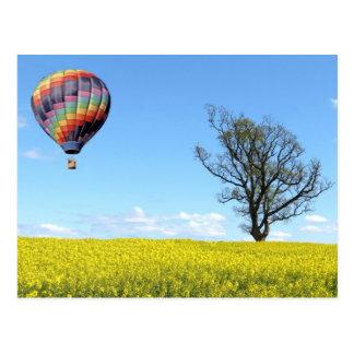 Hot Air Balloon Postcard
