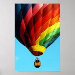 Hot Air Balloon - Poster