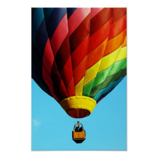 Hot Air Balloon - Poster