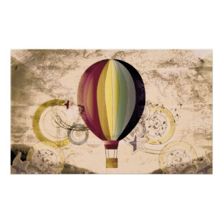 Hot Air Balloon Posters