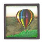 Hot Air Balloon Premium Keepsake Box