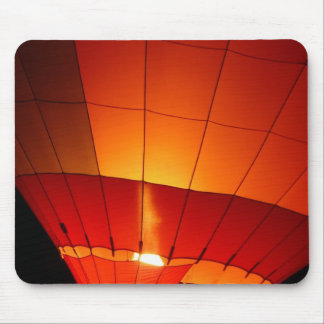 Hot Air Balloon Red Orange Ballooning Gifts Mouse Pad