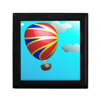Hot Air Balloon Ride Jewelry Box