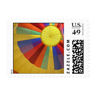 Hot Air Balloon Ride Postage Stamp