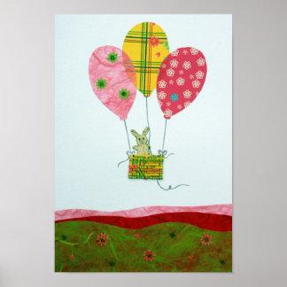 Hot Air Balloon Ride Print