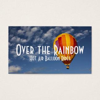 Hot Air Balloon Rides Business Card