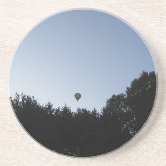 Hot air balloon sandstone coaster
