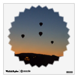 Hot Air Balloon Silhouettes Wall Decal