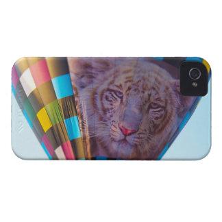 Hot Air Balloon, Snow Leopard, Olathe, Kansas iPhone 4 Case-Mate Case