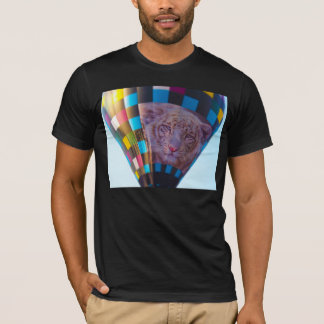 Hot Air Balloon, Snow Leopard, Olathe, Kansas T-Shirt