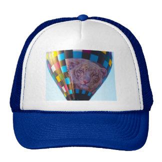 Hot Air Balloon, Snow Leopard, Olathe, Kansas Trucker Hat