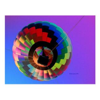 Hot air Balloon Solarized! Postcard