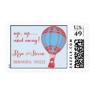 Hot Air Balloon Stamp