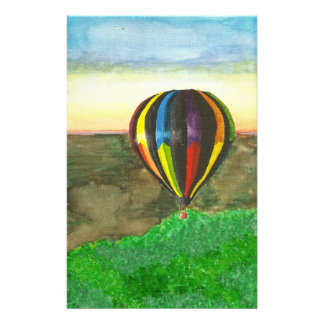 Hot Air Balloon Stationery