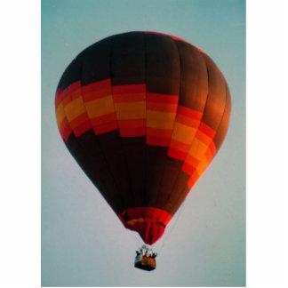 hot air balloon statuette