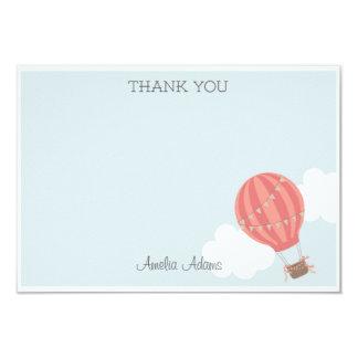 Hot Air Balloon Thank You Card