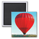 Hot air balloon to celebrate life refrigerator magnet