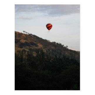 Hot air balloon to celebrate life post cards