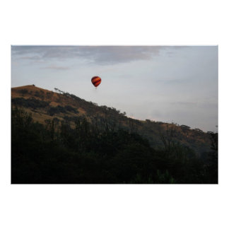 Hot air balloon to celebrate life posters