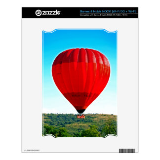Hot air balloon to celebrate life skin for the NOOK