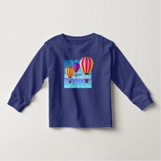 hot air balloon toddler t-shirt