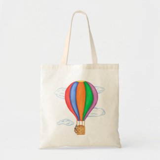 Hot Air Balloon - Tote Bag