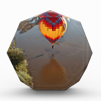 Hot Air Balloon Touching Rio Grande River Award