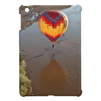 Hot Air Balloon Touching Rio Grande River Cover For The iPad Mini