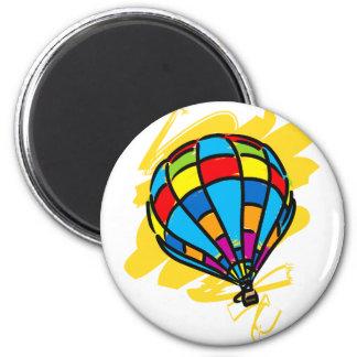 Hot_Air_Balloon_Trip 2 Inch Round Magnet