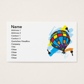 Hot_Air_Balloon_Trip Business Card