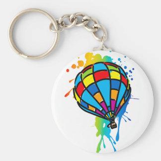 Hot_Air_Balloon_Trip Keychain