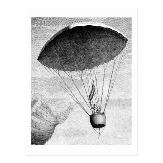 Hot Air Balloon Vintage Eighteenth Century Post Cards