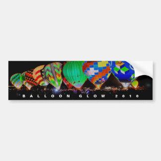 Hot Air Ballooning - Balloon Glow Festival Car Bumper Sticker