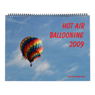 Hot Air Ballooning Calendar