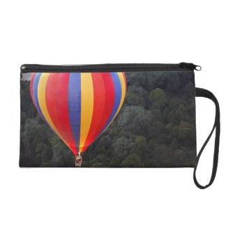 Hot-Air Ballooning over the Mara River Wristlet Purse